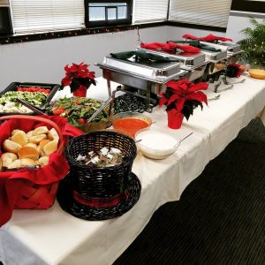 The Christmas spread! wittetravel christmas christmasparty