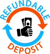 refundable deposit logo